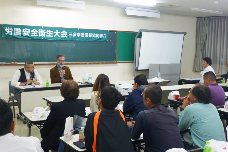 事業部による経営に関する講習会、安全衛生教育の実施